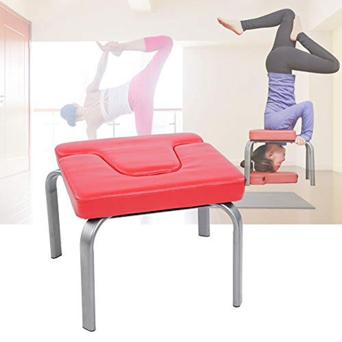 Best Price! GOTOTOP Yoga Stool, Red Yoga Exercise Chair