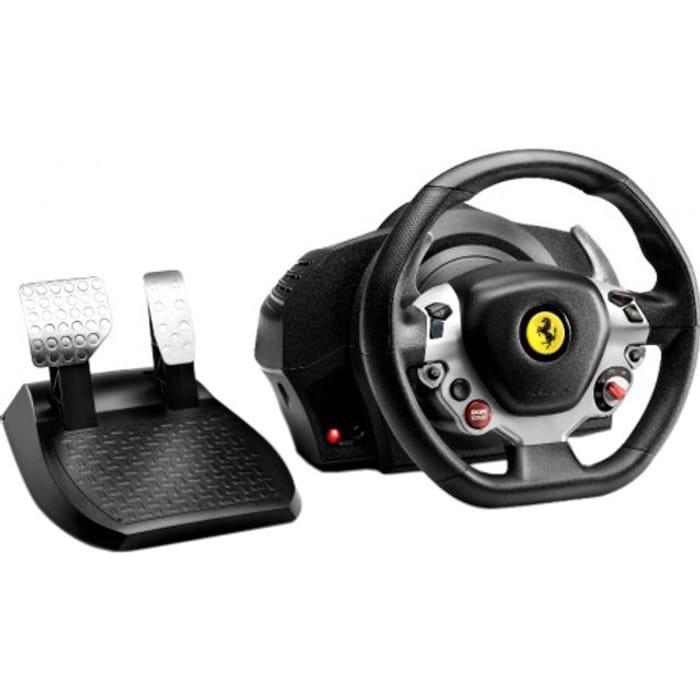 *SAVE £26* Thrustmaster TX Ferrari F458 Italia Edition Steering Wheel & Pedals