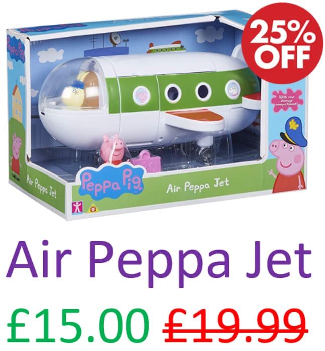 Peppa Pig - Air Peppa Jet *4.8 STARS* FREE PRIME DELIVERY