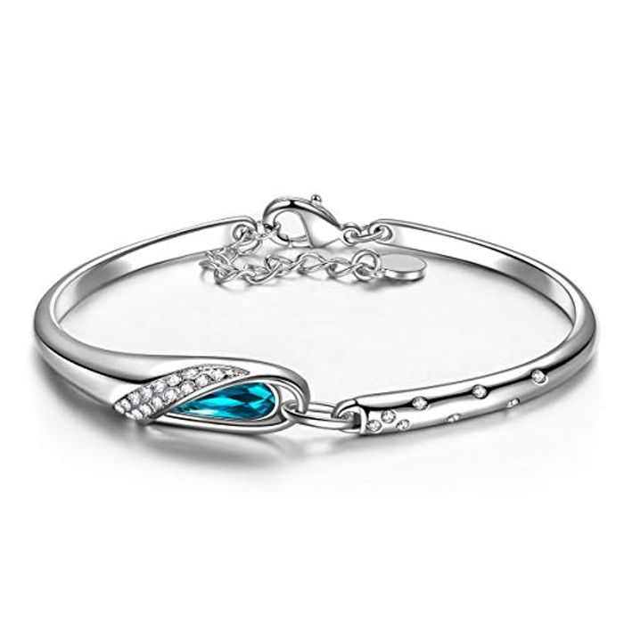 Kami Idea Bracelet for Women - Princess Cinderella - White Gold