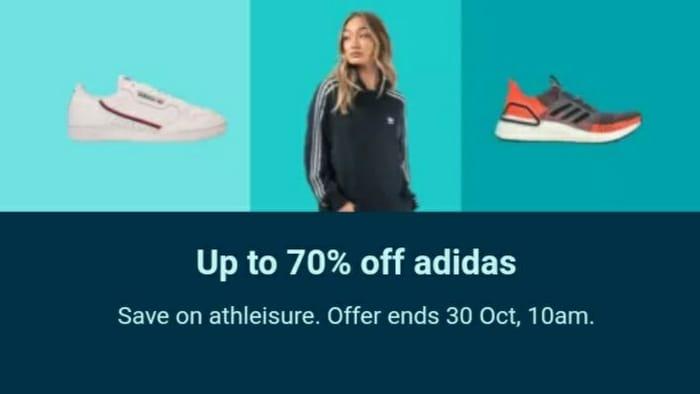Yo Terrible acceso  Upto 70% off Adidas at Ebay | LatestDeals.co.uk