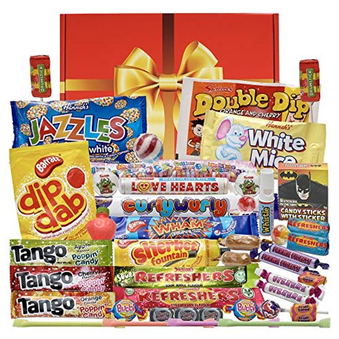 Bumper Retro Sweets Gift Box