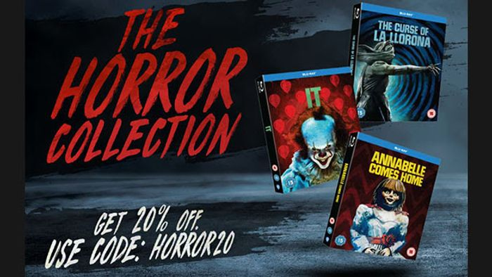 20% off Selected Horror Blu-Ray and DVD at the WB Shop