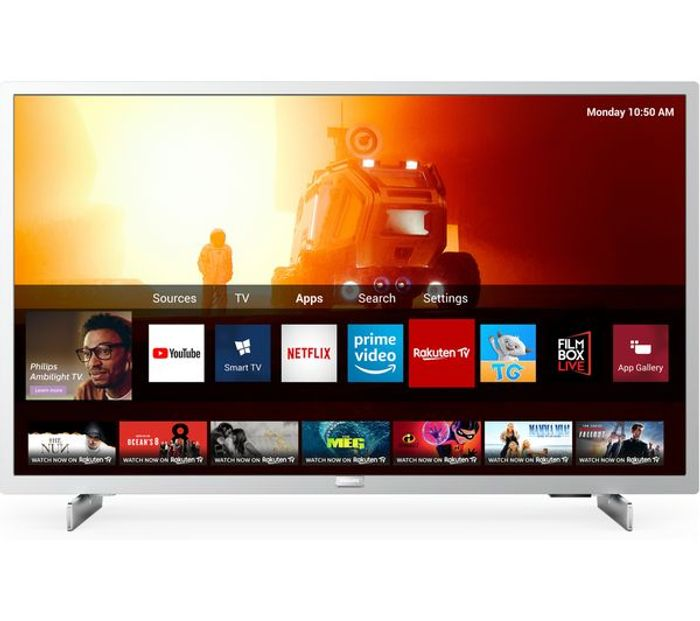 "Best Price! PHILIPS 32"" Smart Full HD HDR LED TV with Freeview & Freesat"