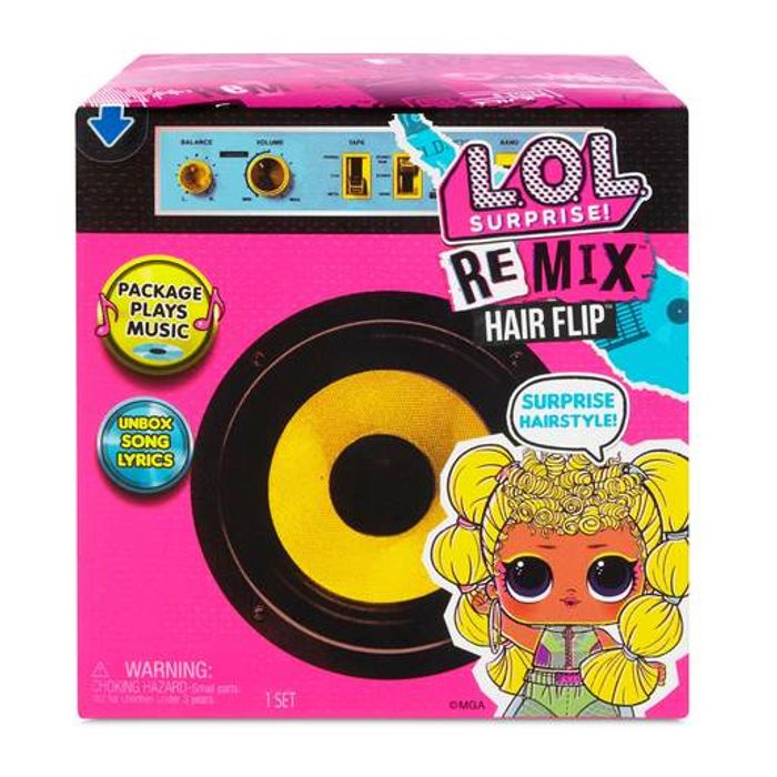 Lol Suprise! Remix Hair Flip Doll. £10 off £60 Spend
