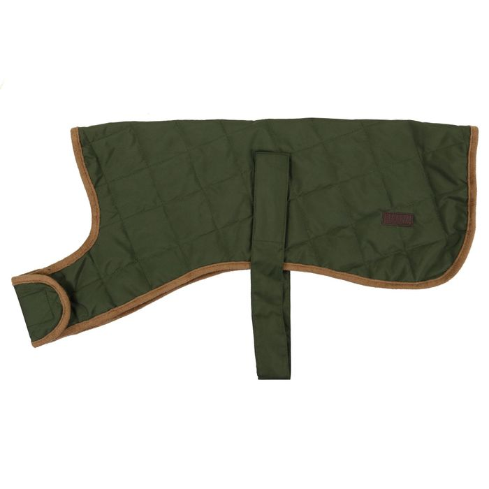 Green 'Odie' Insulated Quilted Dog Coat