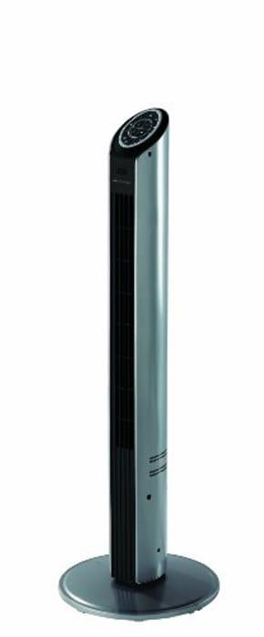 Bionaire Ultra Slim Tower Fan, Silver