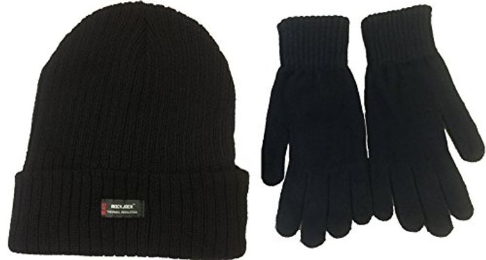 FREE DELIVERY! Thermal Thinsulate Winter Hat and 'Handy' Thermal Gloves Set