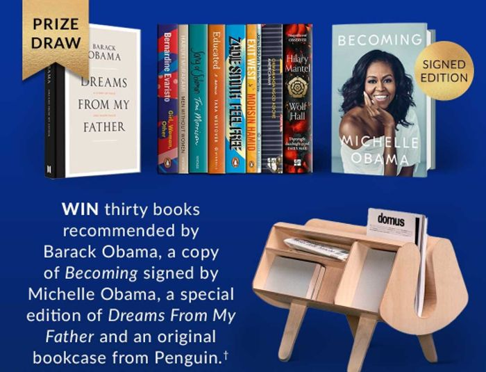 Order a Promised Land Be & Enter to Win Books Recommended by Barack Obama,