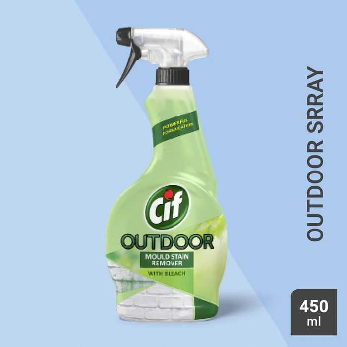 Cif Outdoor Mould & Moss Remover Spray 450ml