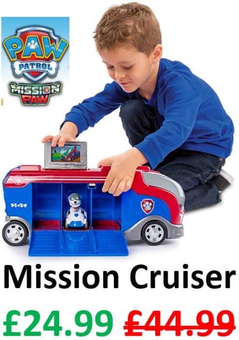 Paw Patrol Mission Paw Mission Cruiser