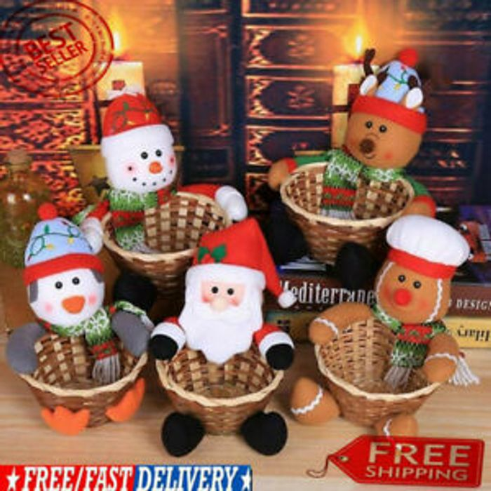 Merry Christmas Candy Basket from £2.36