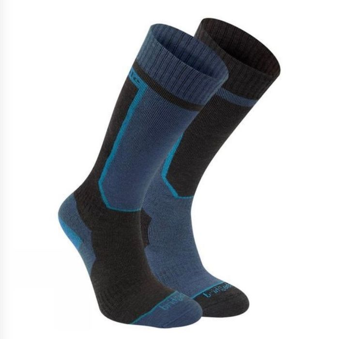 Bridgedale Mens Twin Pack Ski Socks