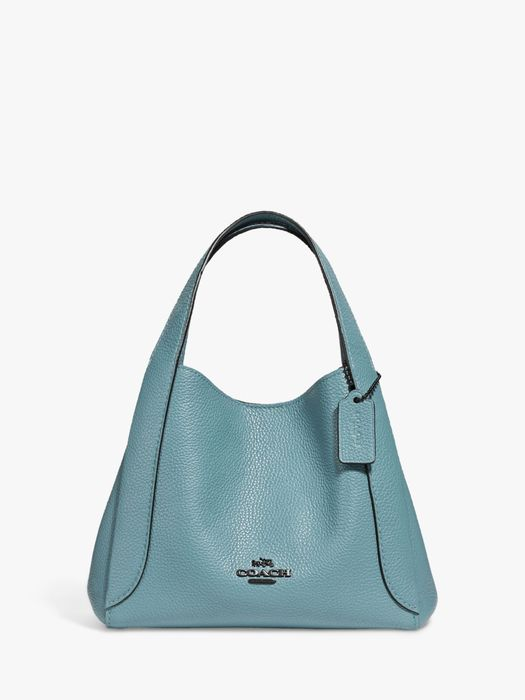 Save 70%- Coach Hadley Leather Small Hobo Bag, Marine