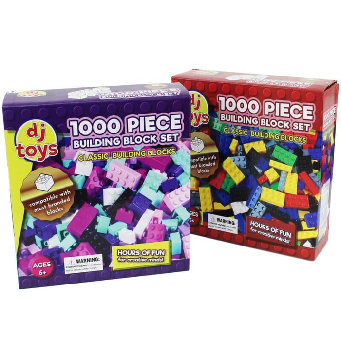 Kids 1000 Piece Building Bricks for £10 Delivered