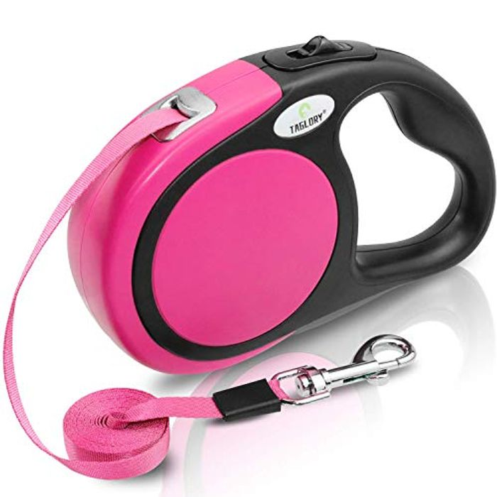 No-Tangle Retractable Dog Lead 5m - Dogs up to 20kg
