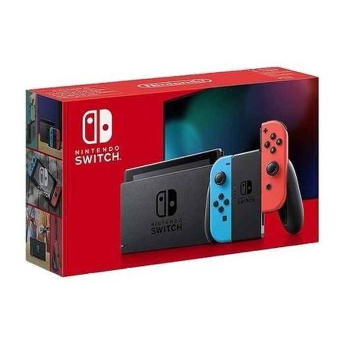Nintendo Switch 1.1 Neon Red/Blue Colour