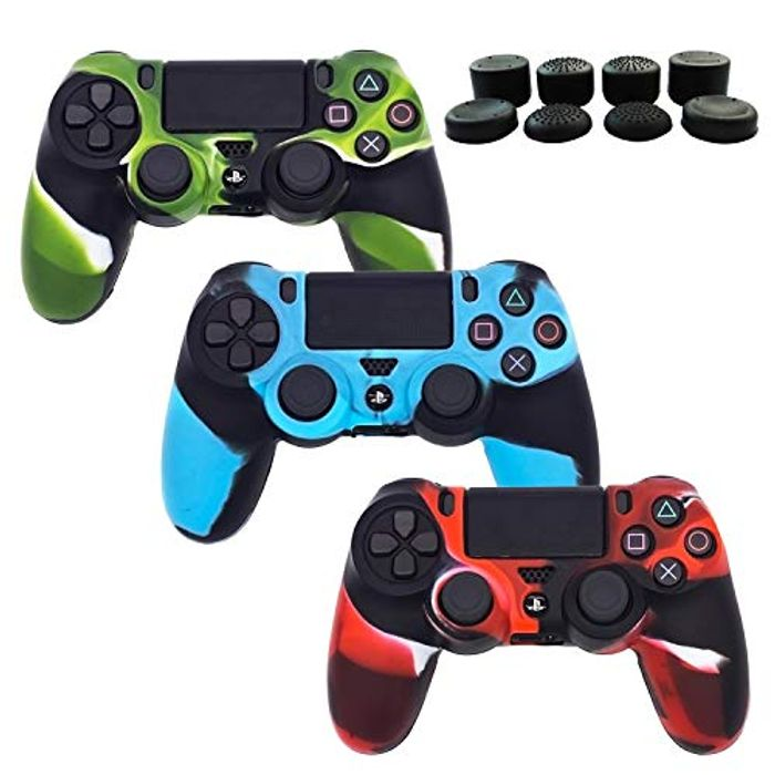 3 Package Silicone Gel PS4 Controller Cover