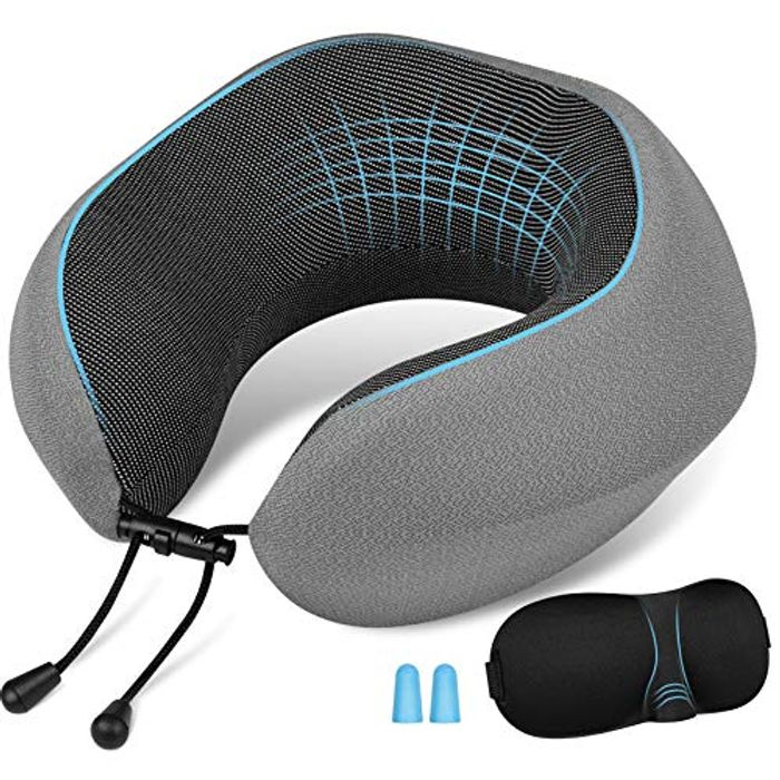 Price Drop! Newdora Memory Foam Neck Pillow