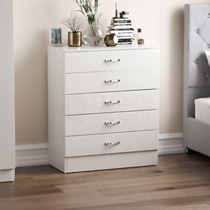 Best Price! Riano Chest of Drawers 5 Draws