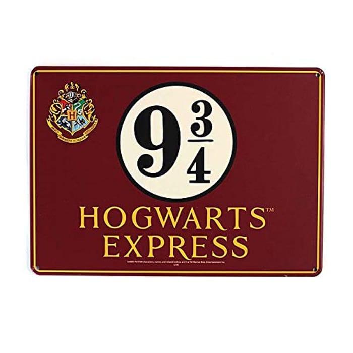 Tin Sign Small - Harry Potter (Hogwarts Express)