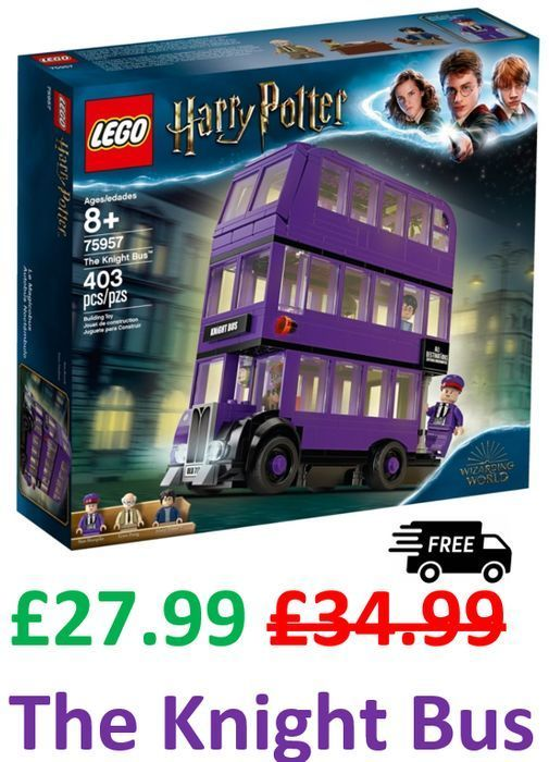 LEGO HARRY POTTER KNIGHT BUS. Amazon Price £27.99 + Free Delivery (75957)