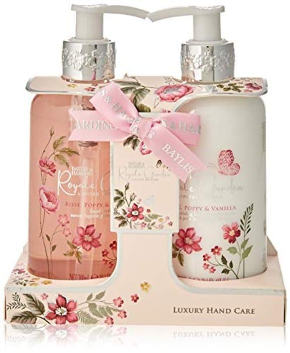 Baylis & Harding Royale Garden 2 Bottle Luxury Hand Care Set