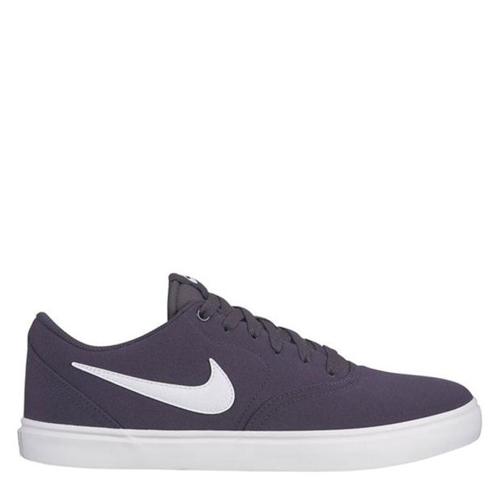 SB Check Solar Mens Canvas Skate Shoes Down From £47.99 to £34