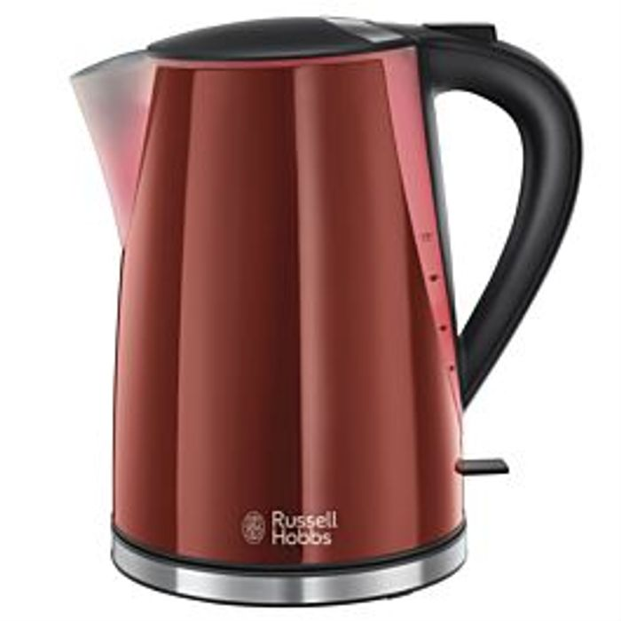 Russell Hobbs Mode Illuminated 1.7L Cordless Kettle - Red