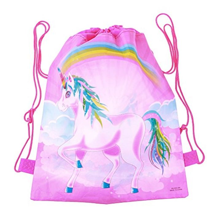 Unicorn Drawstring Backpack - Only £1.24!