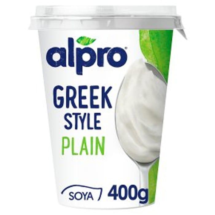 Alpro Soya Greek Style Plain 400g