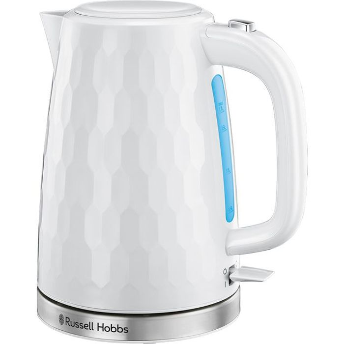 *SAVE £7* Russell Hobbs Honeycomb Kettle - White