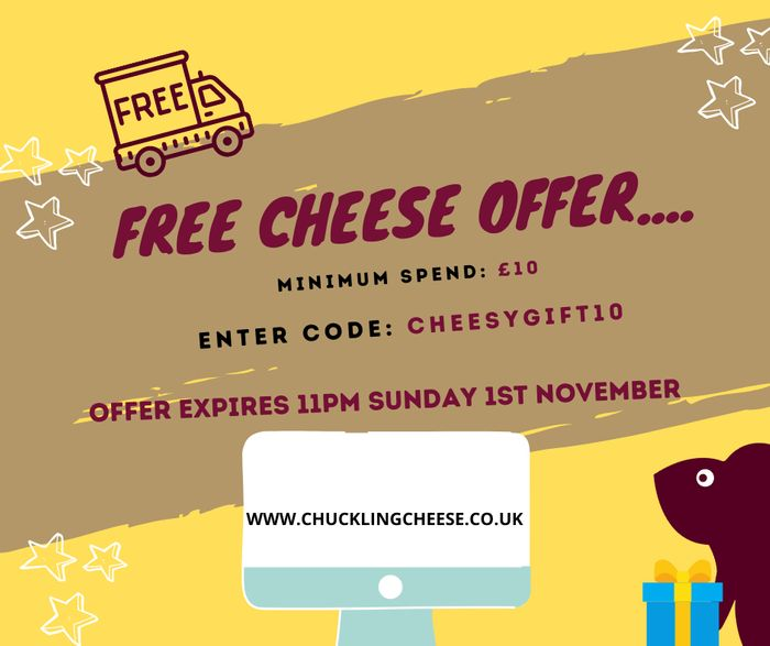 Grab a Free Cheese Gift When You Spend over £10