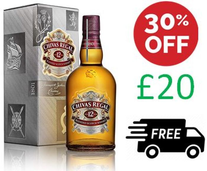 WHISKY - Chivas Regal 12 Year Old Scotch Whisky