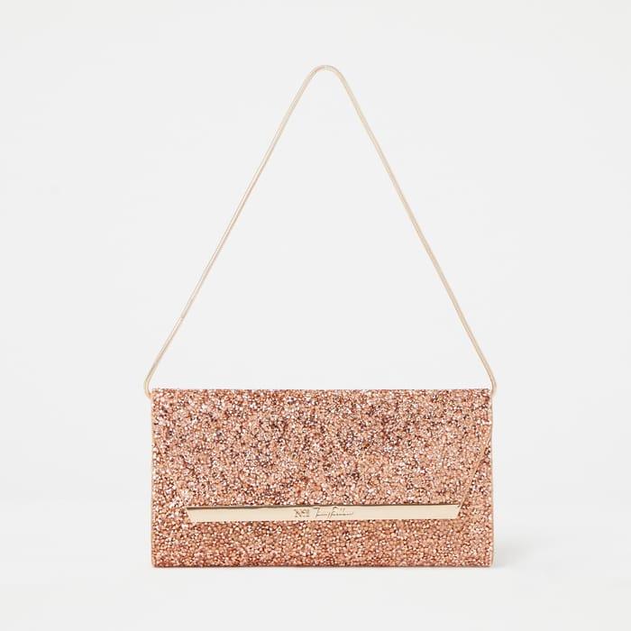 Cheap No. 1 Jenny Packham - Rose Crystal Embellished Clutch Bag Only £20!