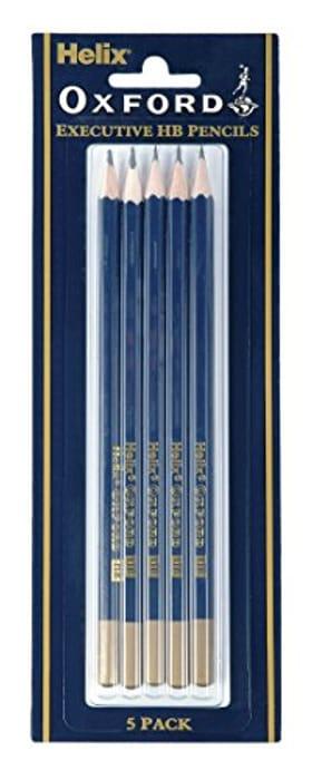 Helix Oxford Pencils (5 Pack) £1.09 at Amazon Prime / £5.58 Non Prime