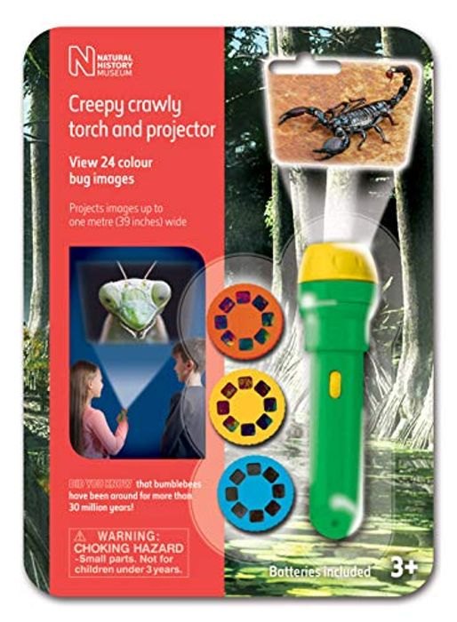 Cheap Natural History Museum Creepy Crawly Torch and Projector Only £6.99!