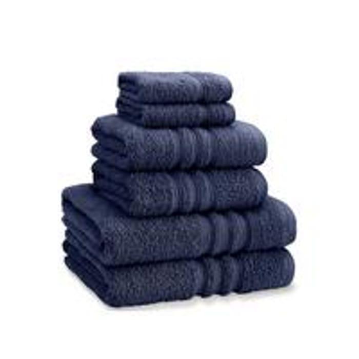 Catherine LansfieldZero Twist 6-Piece Towel Bale - Navy
