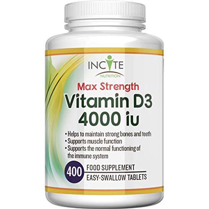 Vitamin D 4000iu - 400 Vitamin D3 Tablets
