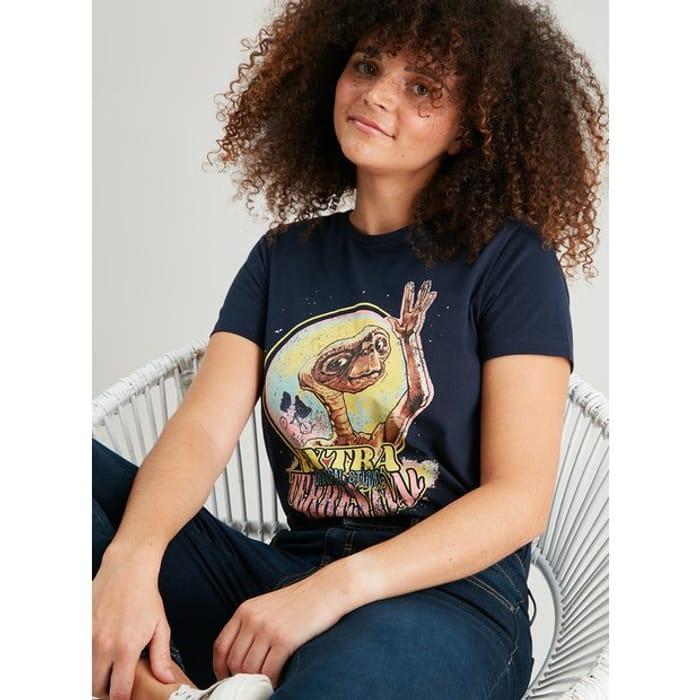 Disney E.T. Navy T-Shirt