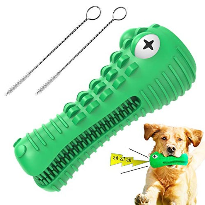 Dog Toys Dog Squeaky Tough Super Durable Toy with £7 off Coupon