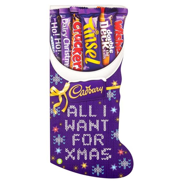 Cadbury Medium Stocking Chocolate Selection Box
