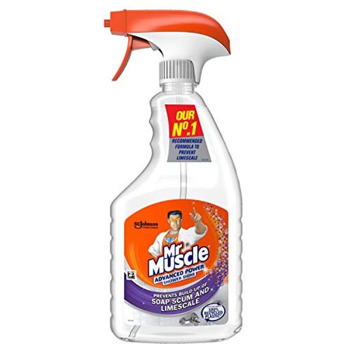 6 Pack Mr Muscle Sgower Shower Shine Spray