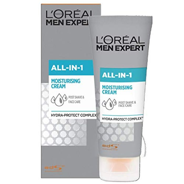 L'Oral Men Expert All-in-One Hydrating Face Cream 75 Ml
