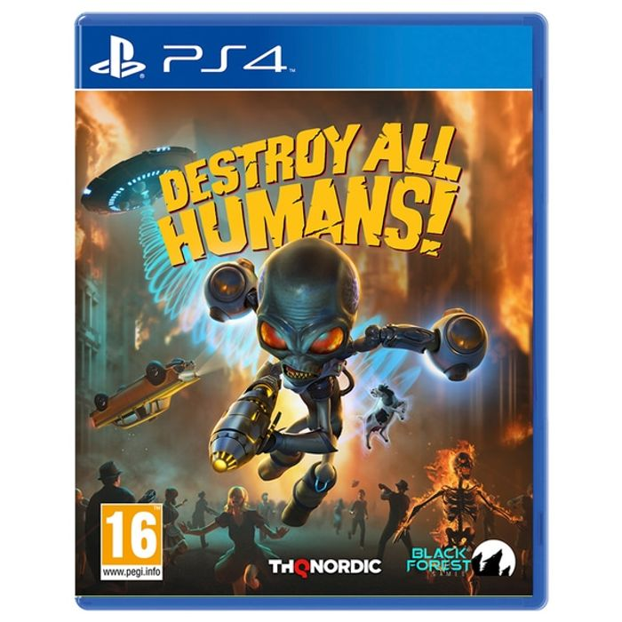 Destroy All Humans! PS4 Game.