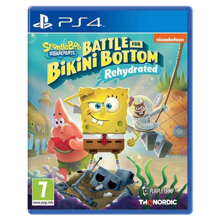 Spongebob SquarePants: Battle for Bikini Bottom - Rehydrated PS4