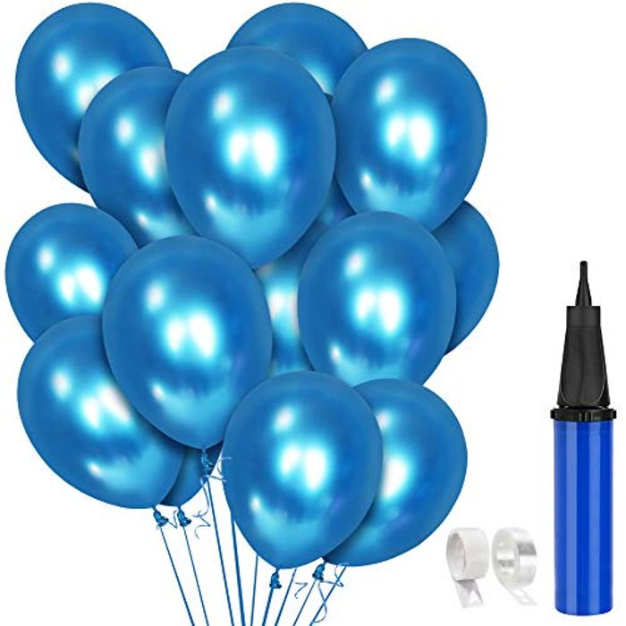 Price Drop! 60 PCS Blue Balloons Party Decoration