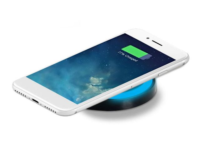 1 or 2 Qi Wireless Phone Chargers - Apple & Android Compatible!