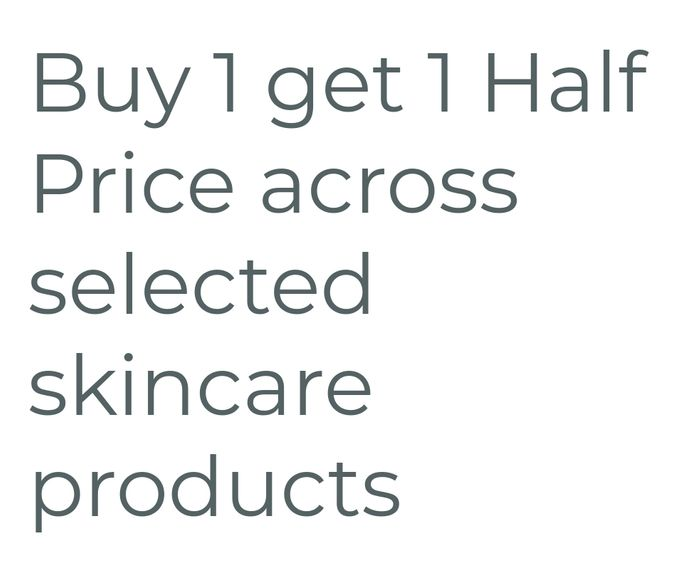 Buy One Get One Half Price Avon Product