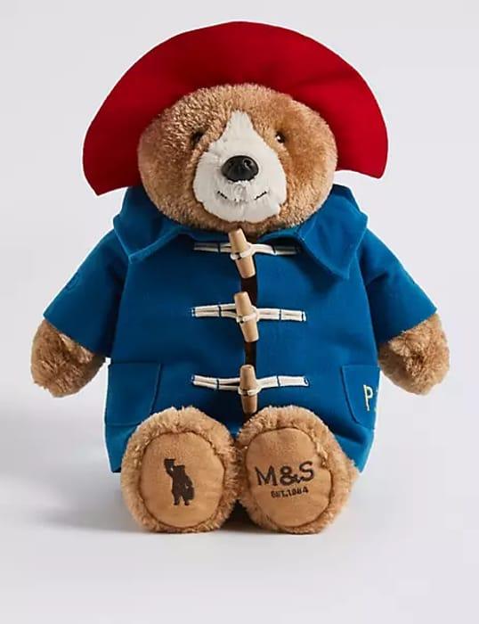 M&S Paddington Bear Plush Toy - £12 With Free C&C